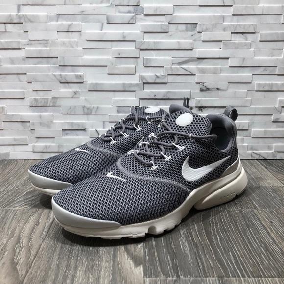 d9ac2cef6301 NWOT Nike Air Presto Fly Cool Grey Platinum Shoes.  M 5b881c84d8a2c76274ddbc8b